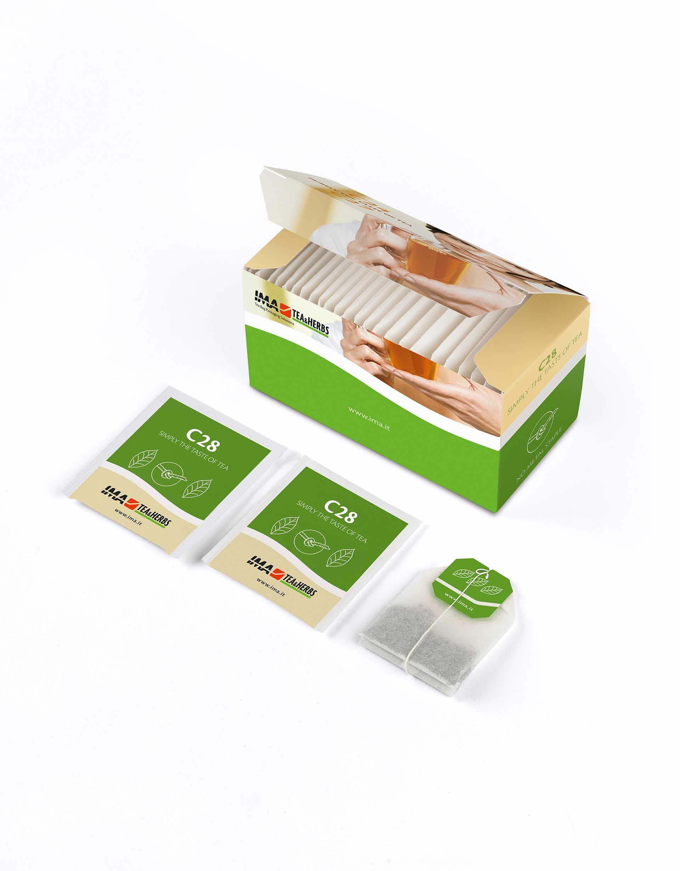 کیسه های کاغذی : بسته بندی چای