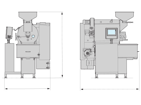 Petroncini Specialty Roasters Layout