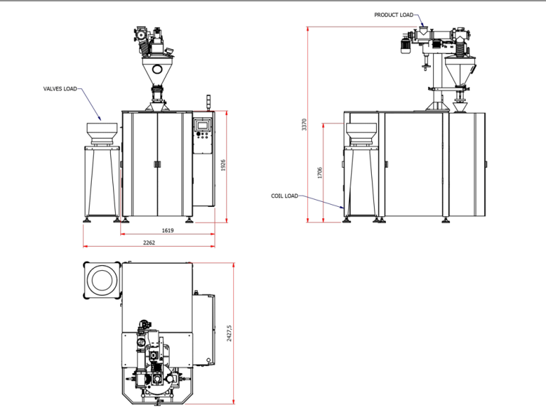 TECMAR 3C Series Layout