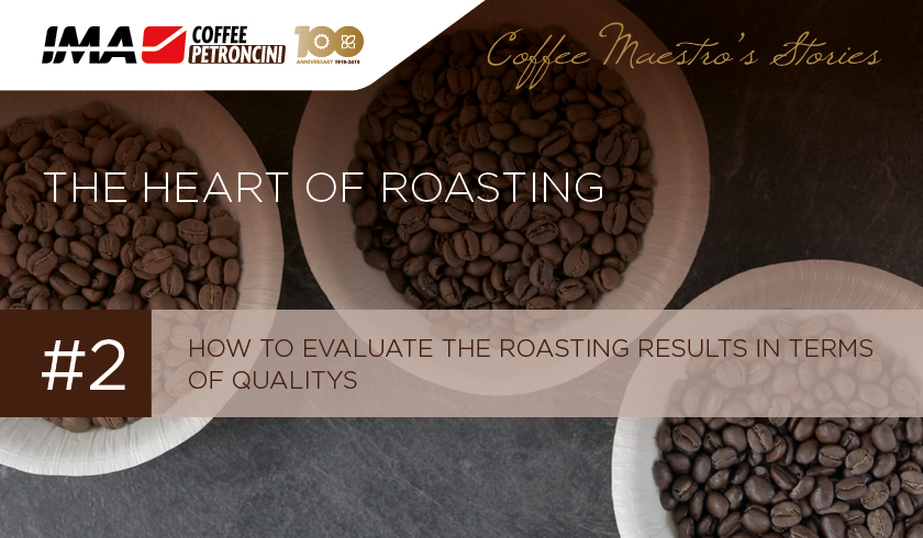 How to evaluate the roasting results in terms of quality