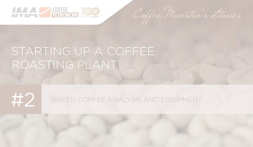 Green coffee analysis and equipment