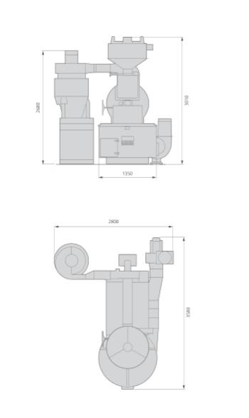 Petroncini TTG 60 Layout