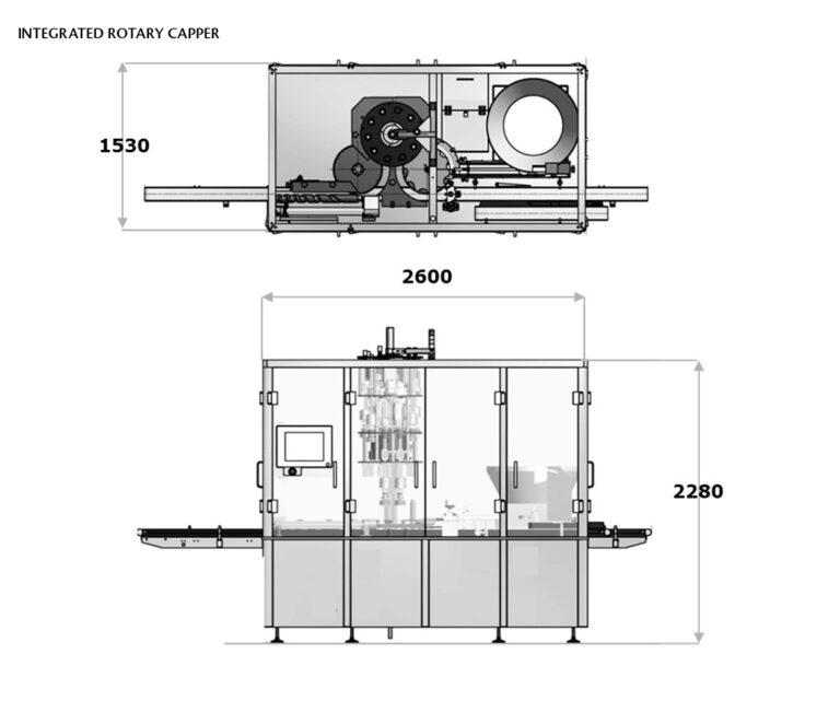 Rotary Capper Range Layout