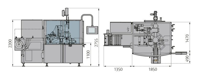 MULTIPACK 5500 Layout