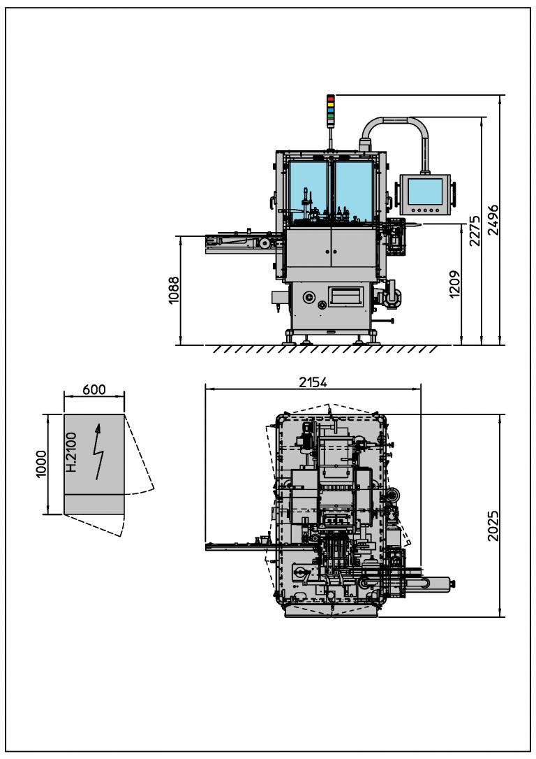I Series - Bottom fold Layout