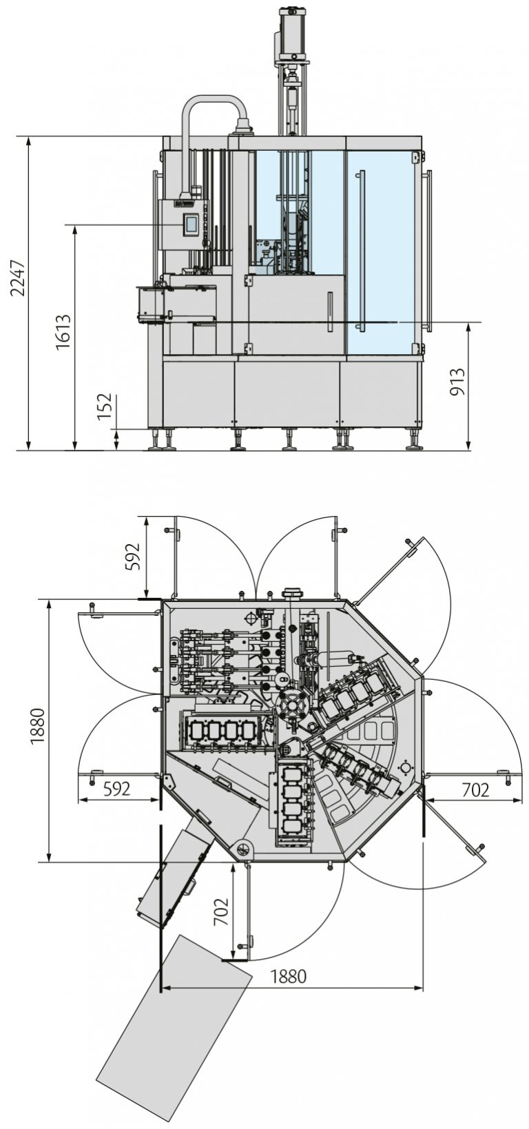 GYRO CUP Layout