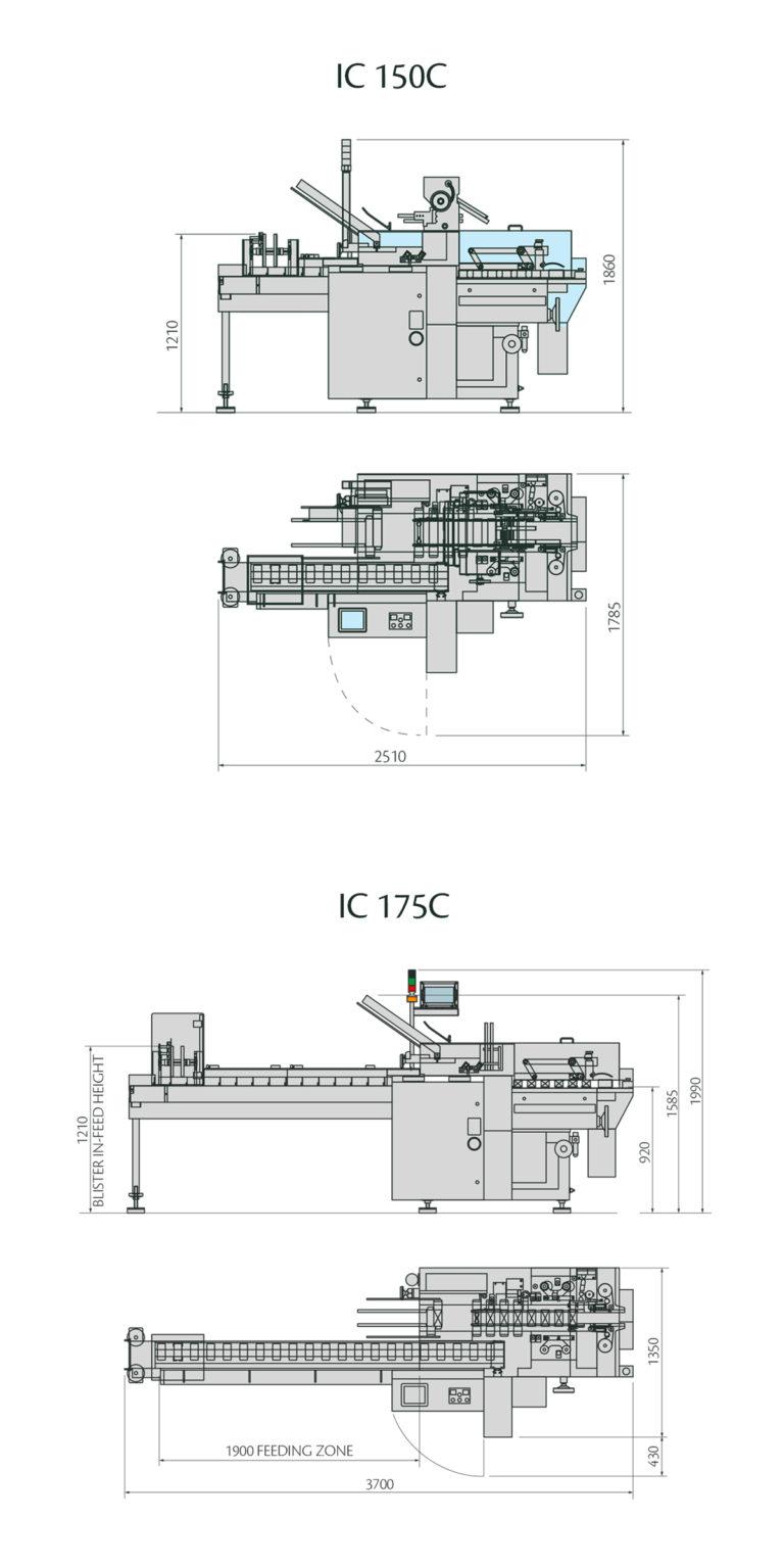 IC 150C - IC 175C Layout