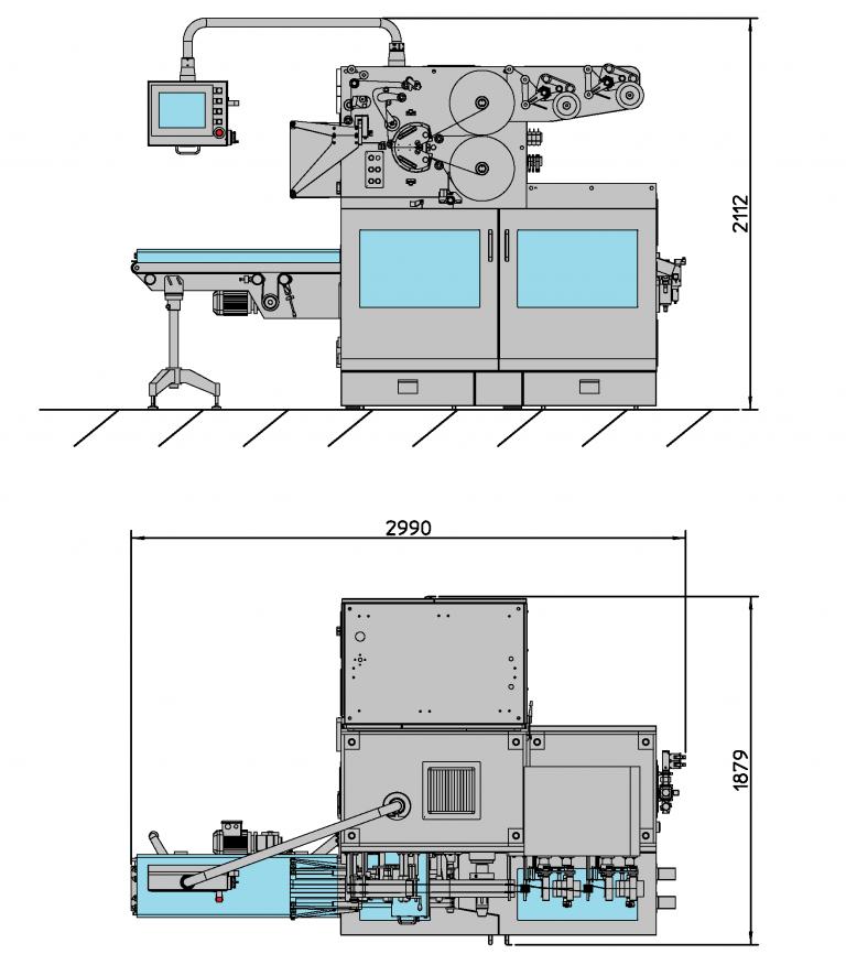I Series - Side Fold Layout