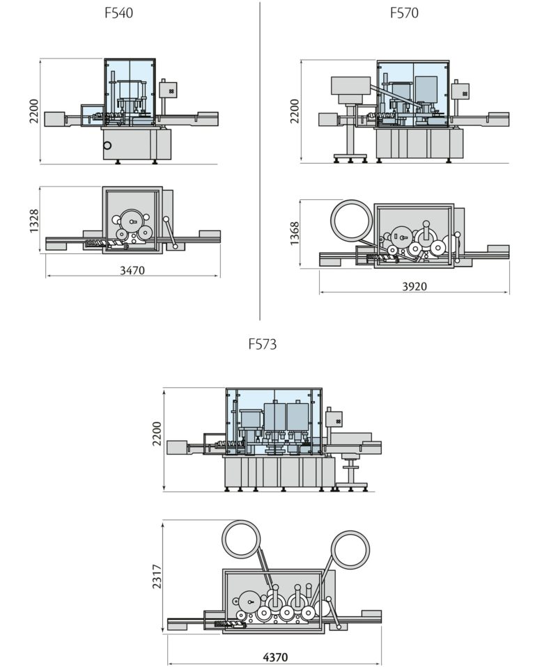 MULTIFILL F500 Layout