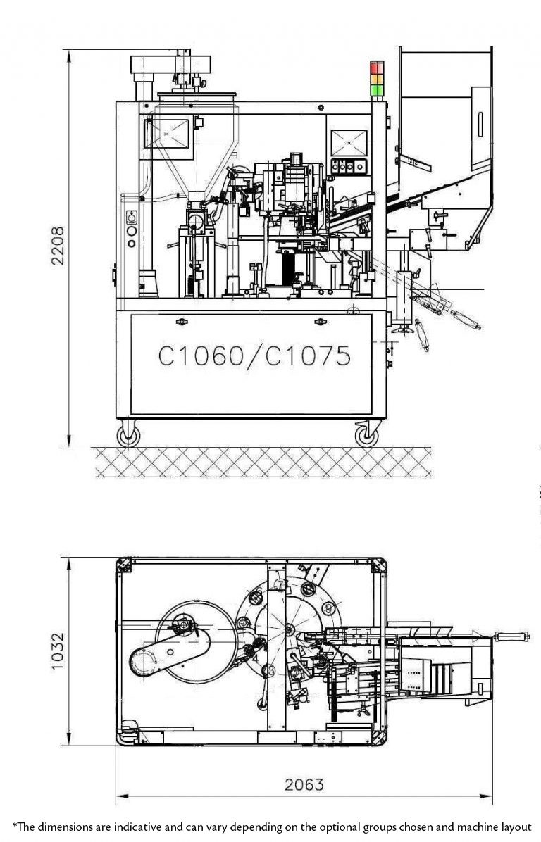C1060/C1075 Layout