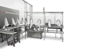 VIAL LOADING SYSTEMS WITH TRAYS AND FENCES