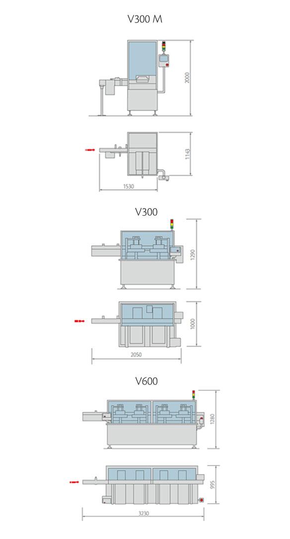 V-VL Series Layout