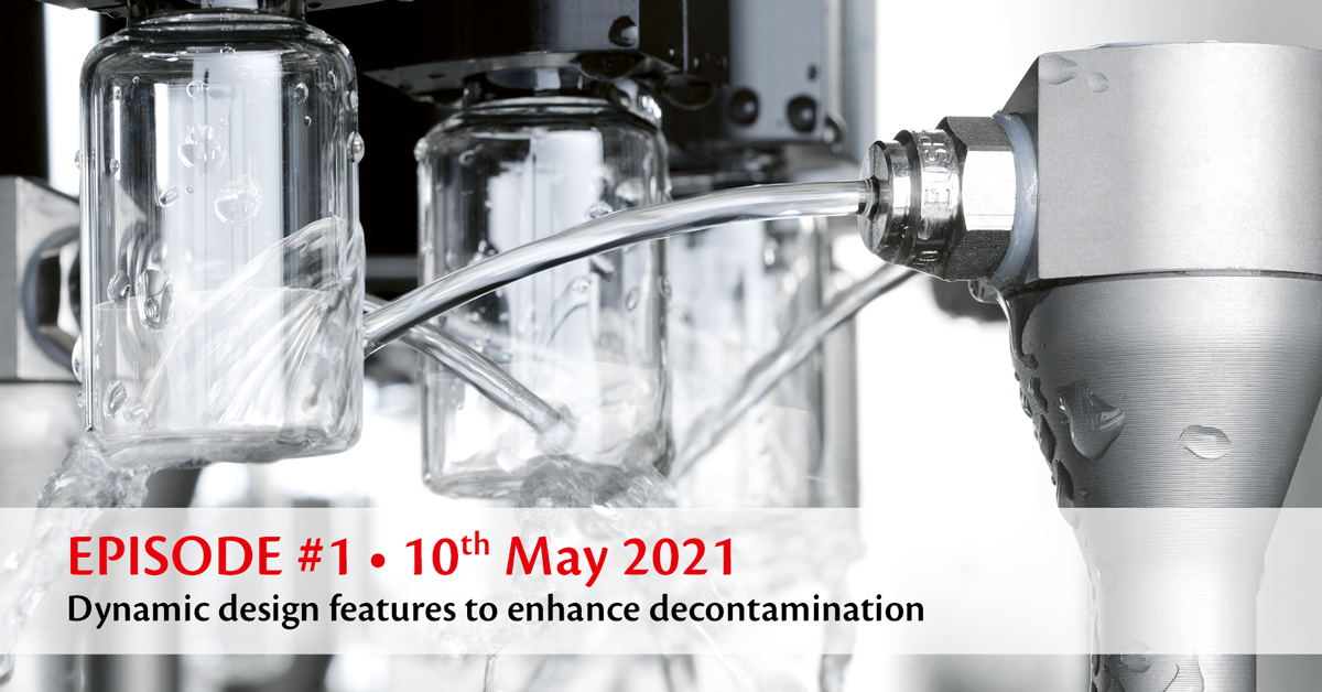 EPISODE #1 • Dynamic design features to enhance decontamination